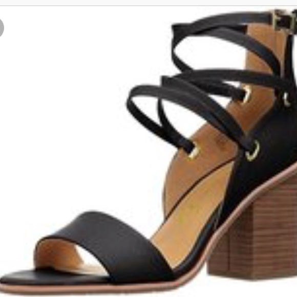4ae546a02a737 Anthropologie Shoes - BC Footwear Anthropologie strappy block heel